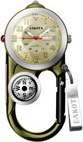 Dakota Men's Green Angler II Carabiner Clip Watch 37107