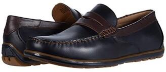 Florsheim Sportster Moc Toe Penny Driver (Black Smooth/Brown Smooth) Men's Shoes
