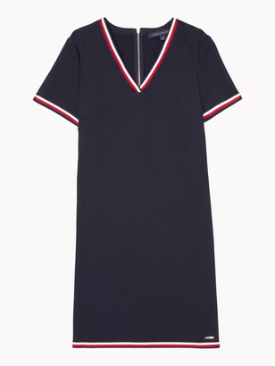Tommy Hilfiger Essential V-Neck Dress