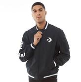 Converse Mens Star Chevron Lightweight Cotton Bomber Jacket Black