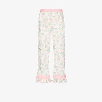 Helmstedt Strawberry Print Pyjama Trousers