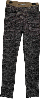 Humanoid Anthracite Wool Trousers