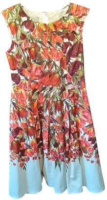 Hobbs Red Cotton - elasthane Dress for Women