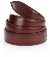 Corthay Lie De Vin Patina Leather Belt
