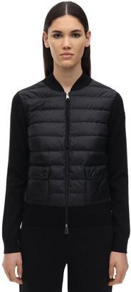 Moncler Hybrid Tricot Down Jacket