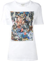 Each X Other 'Revolution' collage T-shirt