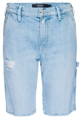 Hudson Carpenter Denim Bermuda Shorts