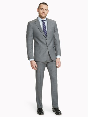Tommy Hilfiger Regular Fit Essential Sharkskin Suit