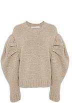 Marisa Witkin Puff Sleeve Sweater