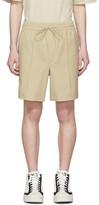 Y-3 Y 3 Khaki Wool Classic Shorts