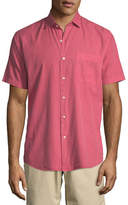 Peter Millar Seaside Washed Cotton/Silk Shirt