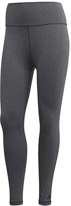adidas Believe This 7/8 Tights (Dark Grey Heather) Women's Casual Pants