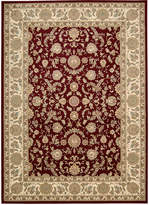 "Kathy Ireland Home Antiquities Empress Garden Garnet 9'10"" x 13'2"" Area Rug"