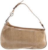 Sergio Rossi Python Handle Bag