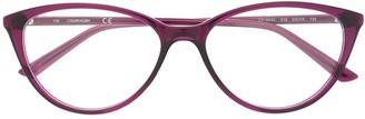 Calvin Klein Cat-Eye Frame Logo Glasses