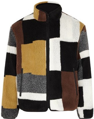 John Elliott Colour-blocked PolarFleece Jacket