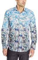 Bugatchi Men's Votte Long Sleeve Shaped Button Down Shirt