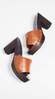 Jeffrey Campbell Dlight Block Heel Clogs