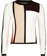 River Island Girls red color block top