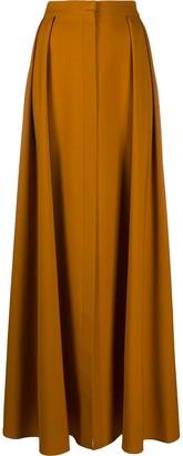 Maison Rabih Kayrouz Pleated Full Length Skirt