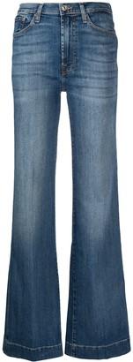 7 For All Mankind Modern Dojo Soho flared jeans