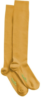 Smalls Merino Women's The Softest Mulesing Free Merino Wool Socks In Mustard