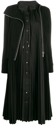 Sacai layered dress