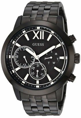 GUESS Men's Analog Quartz Watch with Stainless Steel Strap