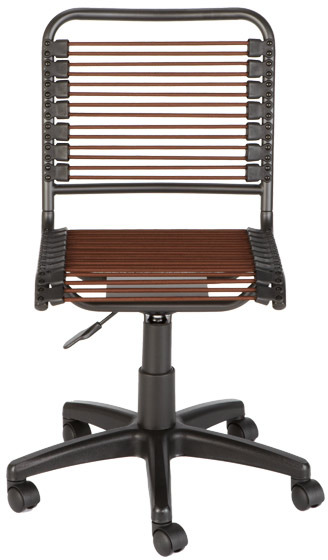 Container Store Chocolate Bungee Office Chair