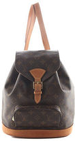 Louis Vuitton Brown Coated Canvas Monogram Montsouris MM Backpack BP4145 MHL