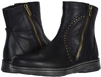 Naot Footwear Cetona (Soft Black Leather) Women's Boots