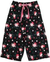 Vivetta Floral Printed Flannel Pants