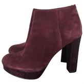 MICHAEL Michael Kors Purple Suede Ankle boots