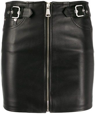 Manokhi zip-up short skirt