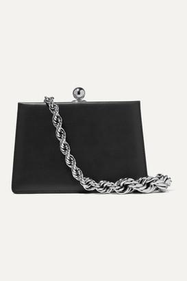 Ratio et Motus Mini Twin Leather Shoulder Bag - Black
