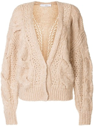 IRO Cable-Knit Cardigan