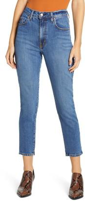 Nobody Denim Frankie High Waist Ankle Skinny Jeans
