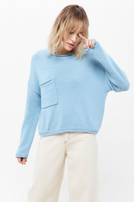 Urban Outfitters Leona Slouchy Pocket Sweater