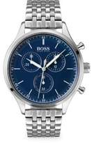 Companion Stainless Steel Chronograph Watch