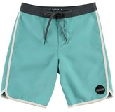 O'Neill 'Santa Cruz' Scalloped Board Shorts