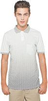 This is Not a Polo Shirt by band of outsiders Trapped Pocket Pique Polo in Faded Foulard Print