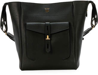 Tom Ford Rialto Grain Calf Bucket Bag