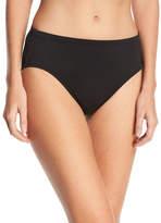 High-Waisted Tummy Toner Swim Bottom, Plus Size