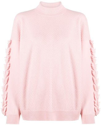 Barrie Chevron Knit Cashmere Jumper