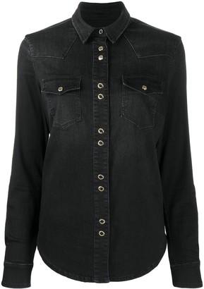 Pinko Long-Sleeve Denim Shirt