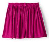 Classic Little Girls Gathered Cord Skirt-Atlas Yellow