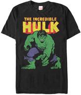 Fifth Sun Men's Tee Shirts BLACK - Black 'The Incredible Hulk' Big Time Tee - Men