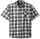 Rocawear Men's Big and Tall Short Week Short Sleeve Shirt