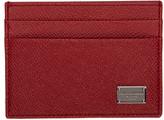 Dolce & Gabbana Red Classic Logo Card Holder
