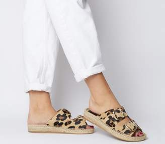 Solillas Sollilas Two Strap Sandals Pony Hair